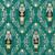 Gift Wrap - Nutcracker - Green/Metallic White/Metallic Black/Metallic Gold