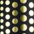 Polka Dots - Black & Gold foil