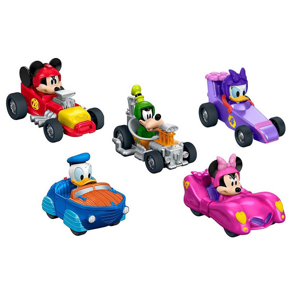 FISHER PRICE DISNEY JUNIOR MICKEY AND THE ROADSTER RACERS DIECAST VEHICLE (ASSORTMENT)
