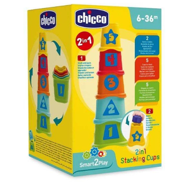 CHICCO 2-IN-1 STACKING CUPS