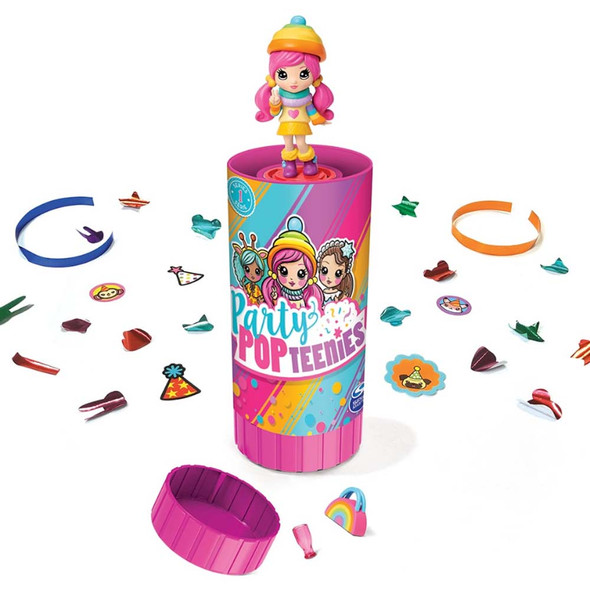 PARTY POPTEENIES SURPRISE POPPERS