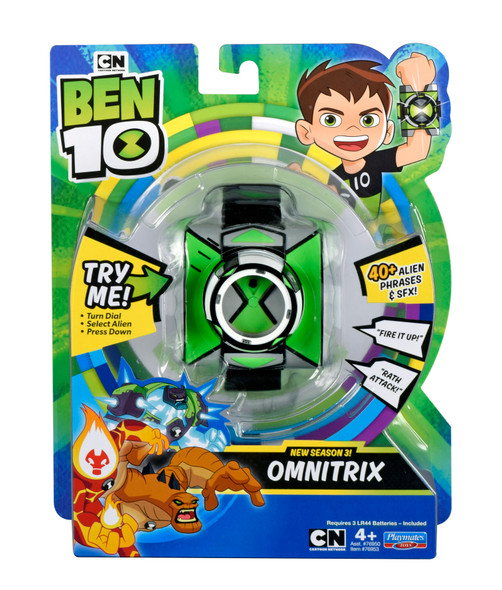 BEN 10 BASIC OMNITRIX SEASON 3