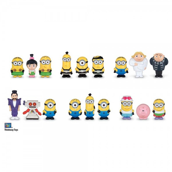 DESPICABLE ME 3 MICRO FIGURES 3-PACK