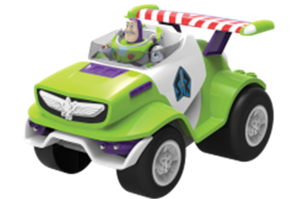 DISNEY BUZZ FRICTION CAR WITH LIGHT & SOUND