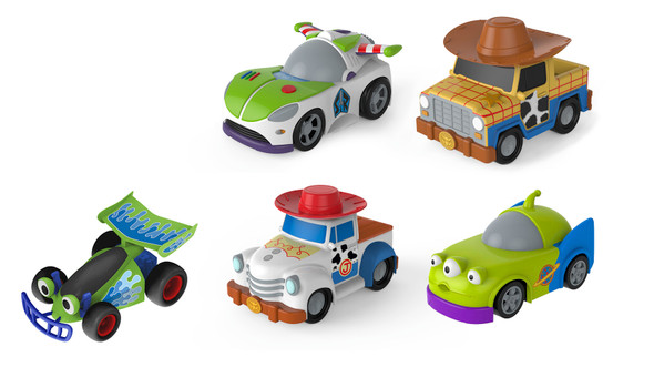 5 ASSORTMENTS: WOODY, BUZZ, JESSIE, ALIENS, RC