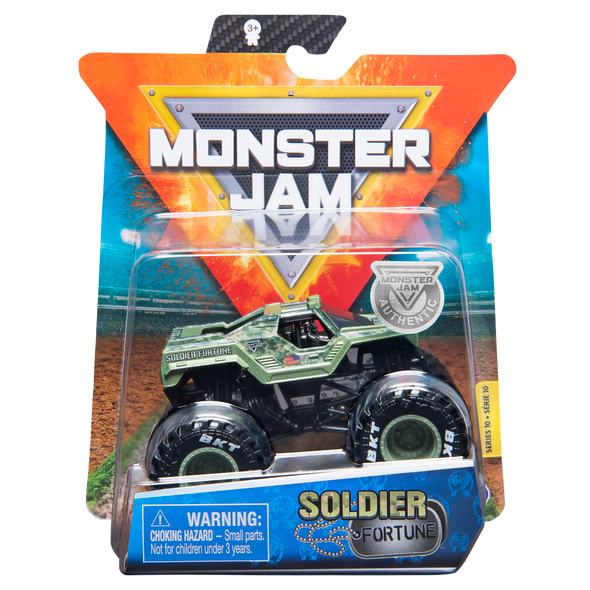 MONSTER JAM 1:64 SINGLE PACK (STYLES MAY VARY)