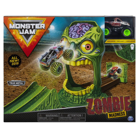 MONSTER JAM 1:64 BASIC STUNT PLAYSETS (STYLES MAY VARY)