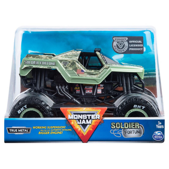 MONSTER JAM 1:24 COLLECTOR DIECAST TRUCKS (STYLES MAY VARY)