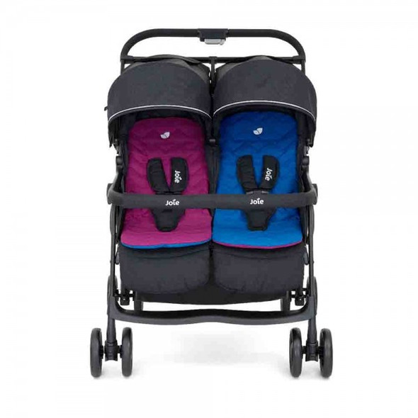 JOIE AIRE TWIN STROLLER (ROSY AND SEA)