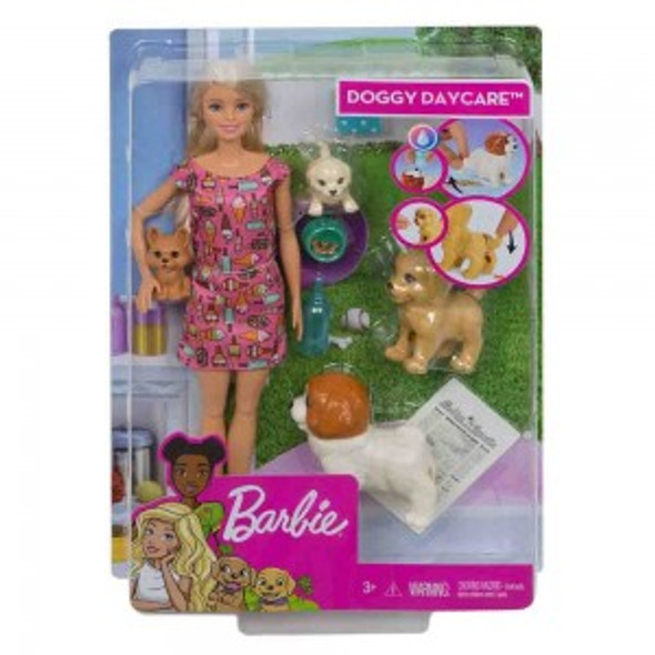 BARBIE DOGGY DAYCARE FEATURE PET