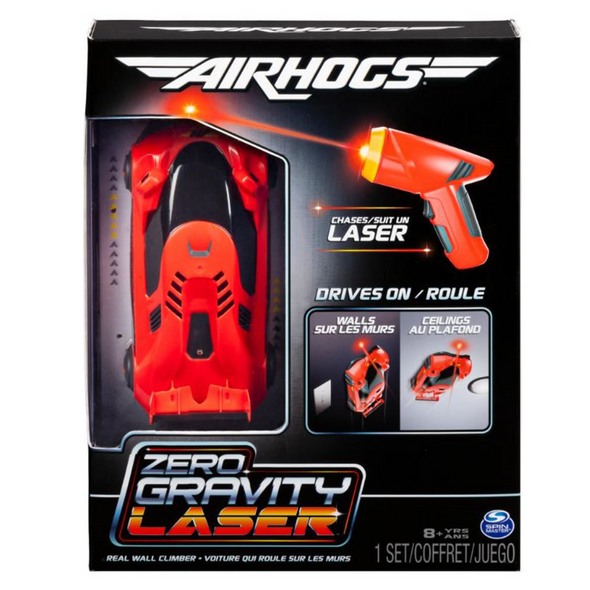 AIR HOGS ZERO GRAVITY LASER CAR (RED)