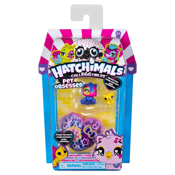 HATCHIMALS COLLEGGTIBLES PET OBSESSED HATCHIPETS (RANDOM ASSORTMENT)