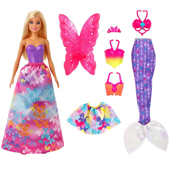 BARBIE DREAMTOPIA DRESS UP DOLL GIFT SET