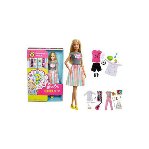 BARBIE CAREER SURPRISE BOX SET