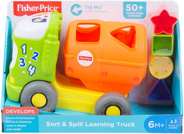 FISHER-PRICE TRUCK SHAPE SORTER