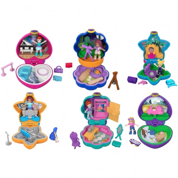 POLLY POCKET TINY POCKET PLACES ASSORTMENT