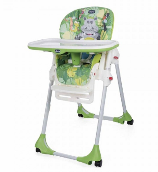 CHICCO POLLY EASY HIGHCHAIR (HAPPY JUNGLE)