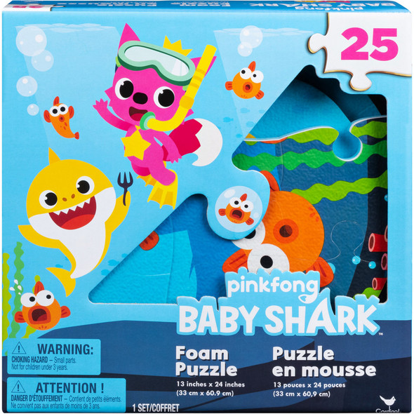 CARDINAL GAMES BABY SHARK FOAM PUZZLE