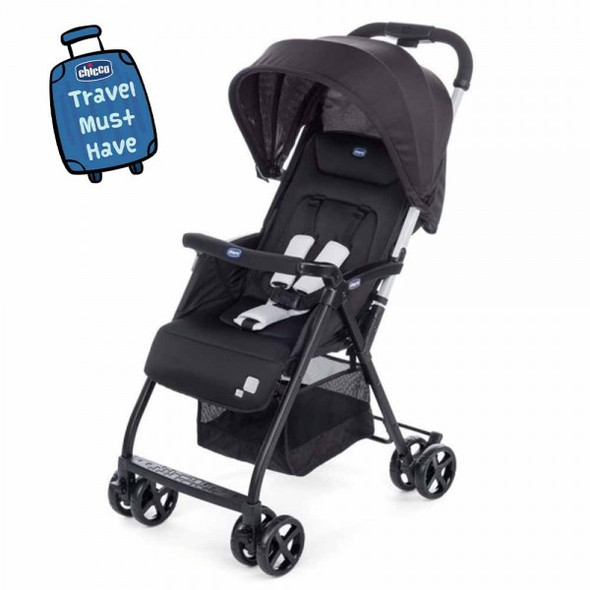CHICCO OHLALA STROLLER 2- BLACK NIGHT