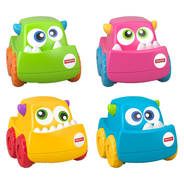 FISHER-PRICE INFANT MINI MONSTER VEHICLE (RANDOM ASSORTMENT)