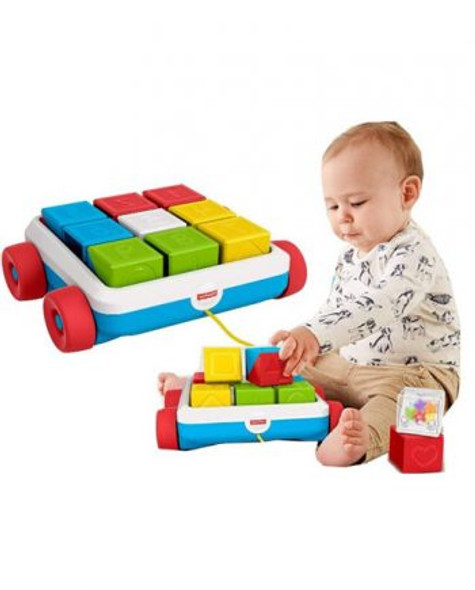 FISHER-PRICE ACTIVITY BLOCK CART