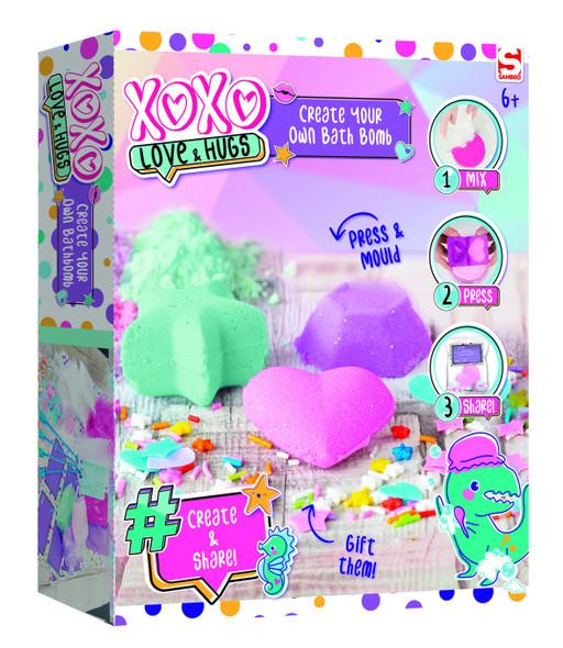 XOXO CREATE YOUR OWN BATH BOMB