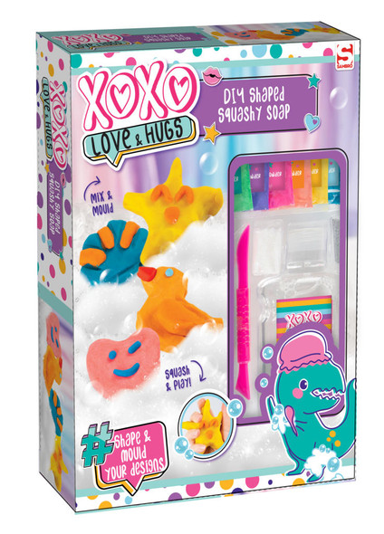 XOXO MAKE YOUR OWN SQUISHY SHAPED SOAPS