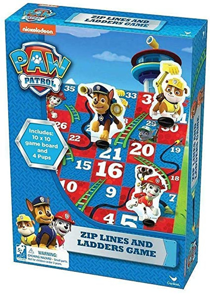 CARDINAL GAMES PAW PATROL ZIP AND LADDER GAME