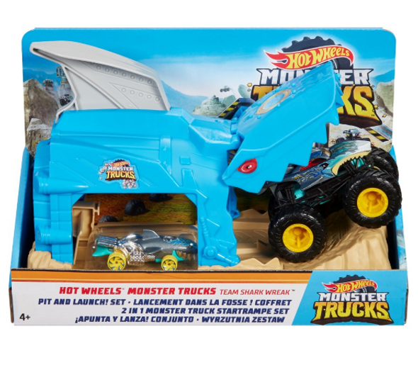 HOT WHEELS MONSTER TRUCKS PLAYSET (RANDOM ASSORTMENT)