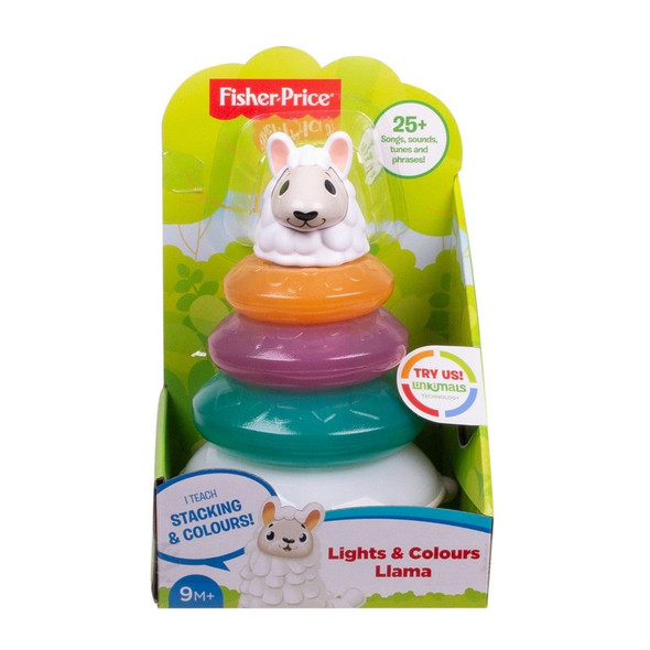 FISHER-PRICE LINKIMALS LIGHTS & COLORS LLAMA