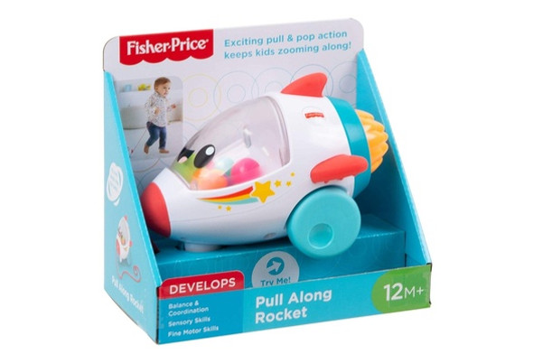 FISHER-PRICE DREAM LAND PULL ROCKET