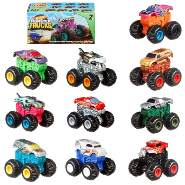 HOT WHEELS MONSTER TRUCKS MYSTERY TRUCKS BLIND BAG