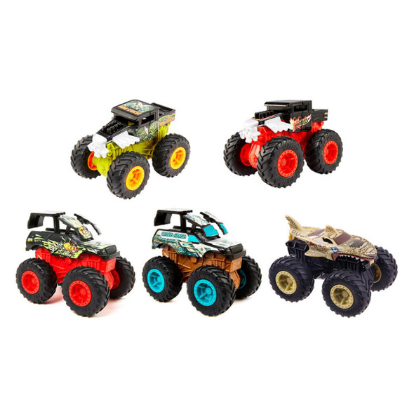 HOT WHEELS MONSTER TRUCKS 1:43 SCALE BASH-UPS (RANDOM ASSORTMENT)