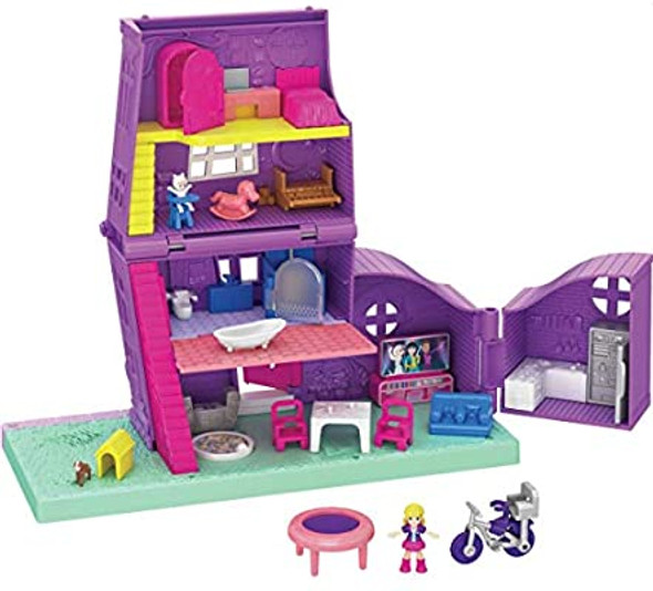 POLLY POCKET COMPACT PLACES POLLYVILLE POLLY'S HOUSE