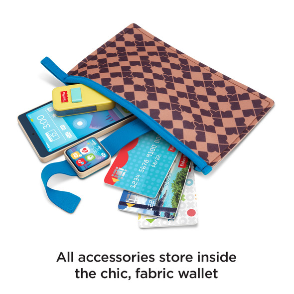 FISHER-PRICE GRAB & GO WALLET