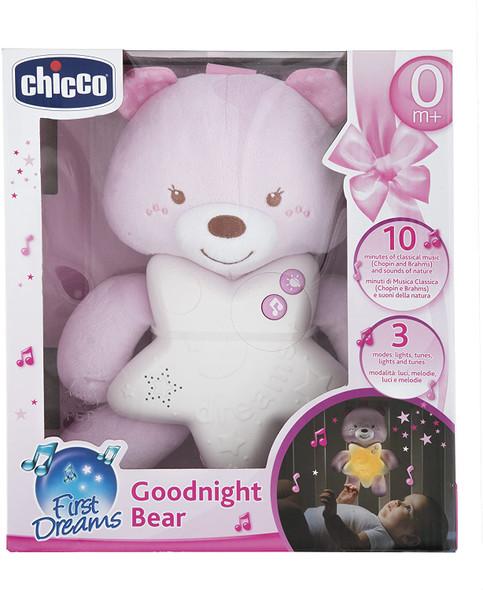 CHICCO GOODNIGHT BEAR (PINK)