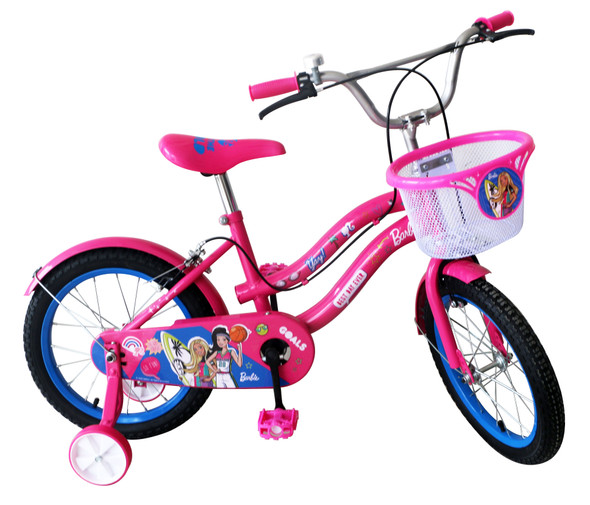 "BARBIE 16"" BIKE W/ BASKET"