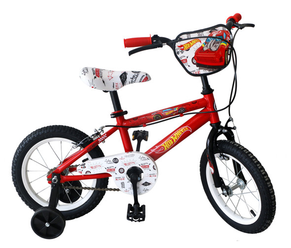 "HOT WHEELS 14"" BIKE -NEW"