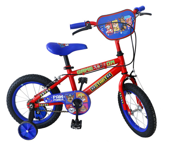 "PAW PATROL 14"" BIKE -NEW"