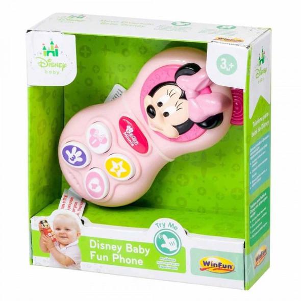 DISNEY BABY MINNIE FUN PHONE