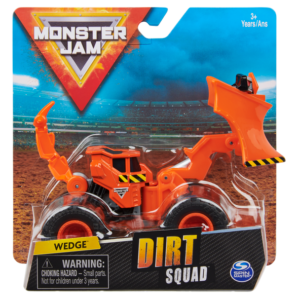 MONSTER JAM 1:64 DIRT SQUAD (STYLES MAY VARY)