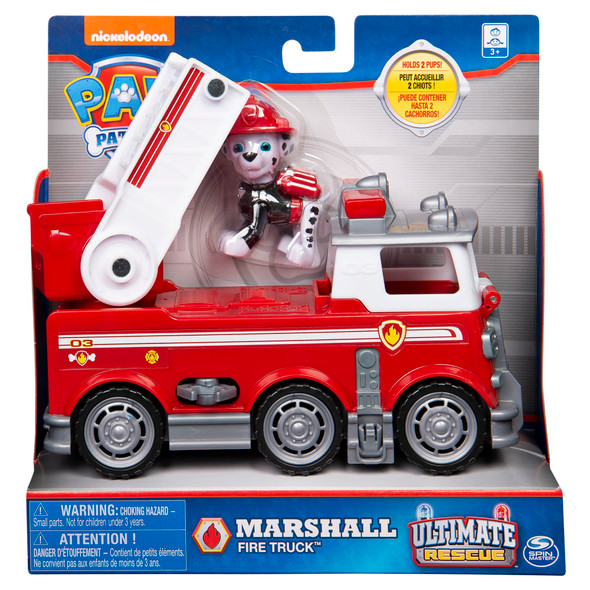 Marshall Fire Truck and Figure
