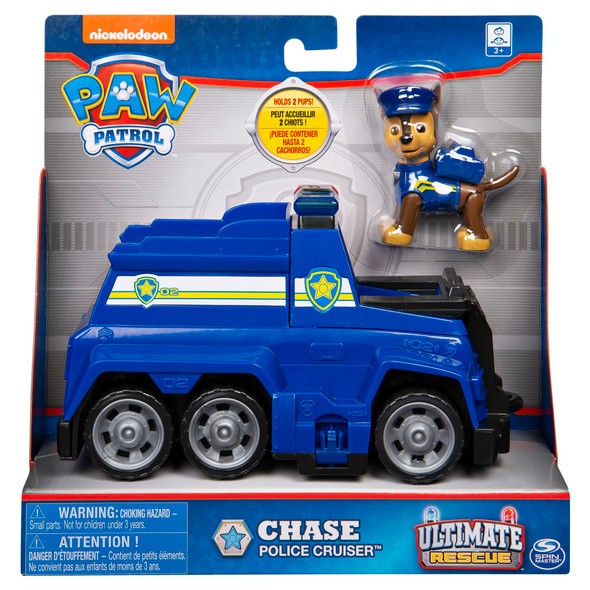 Chase Police Cruiser