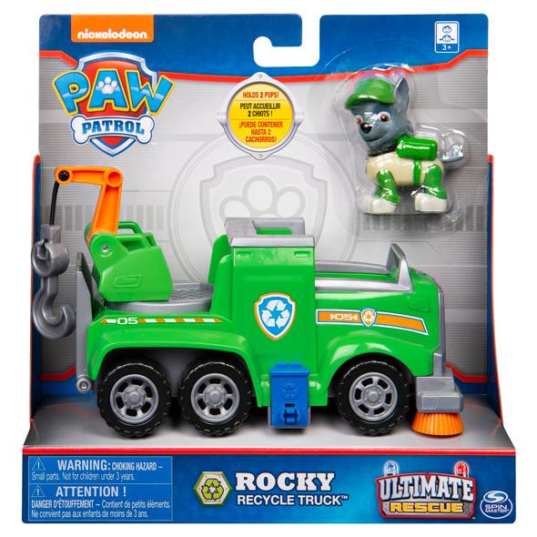 Rocky Recycling Truck