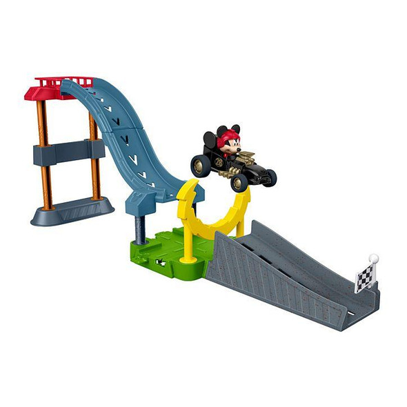 FISHER-PRICE MICKEY AND THE ROADSTER WACKY RACE PLAYSET (RANDOM ASSORTMENT)
