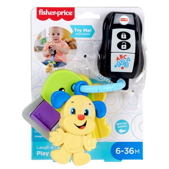 FISHER-PRICE LAUGH & LEARN KEYS