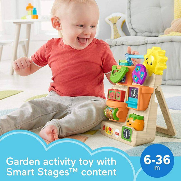 FISHER-PRICE LAUGH & LEARN GROWING GARDEN