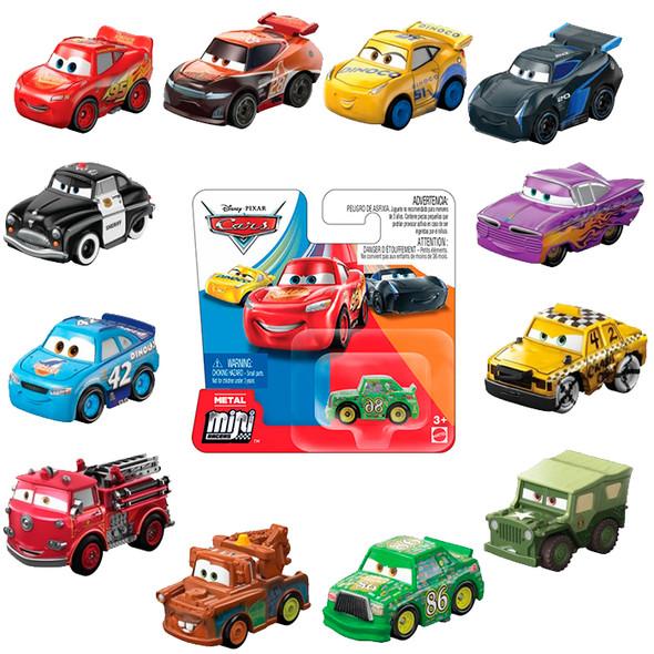 CARS MINIS 1 PACK - BLISTER PACK (RANDOM ASSORTMENT)