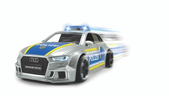 DICKIE TOYS POLICE AUDI RS3 12CM