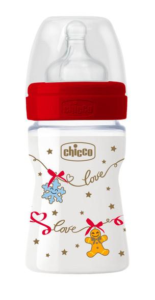 CHICCO FEEDING BOTTLE WB CHRISTMAS 150ML SIL